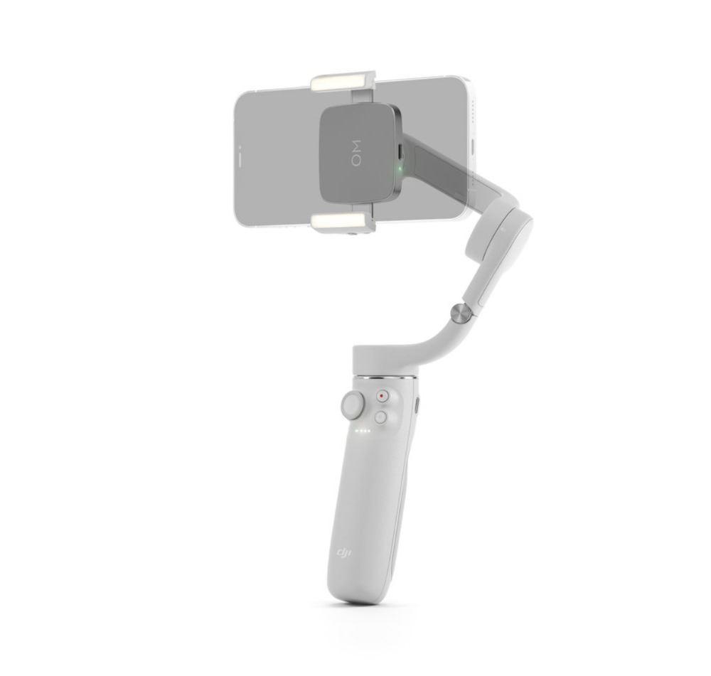 Abrazadera para teléfonos con luz de relleno DJI OM (3)