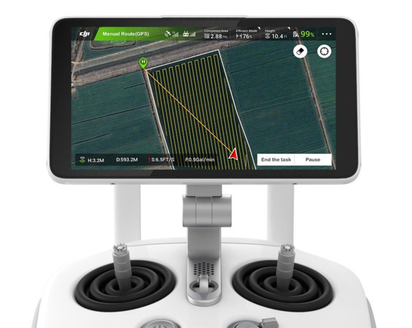 DJI AGRAS MG-1S con RTK- Agricultural Wonder Drone (3)
