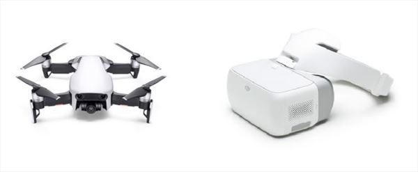 DJI Mavic Air + DJI Goggles