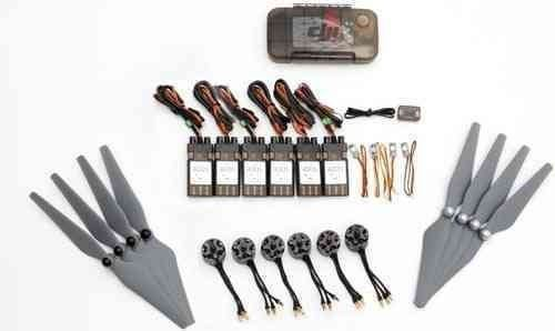 E310 (6*Motor/ESC; 5 pair props; Accessories pack) Hexa Kit