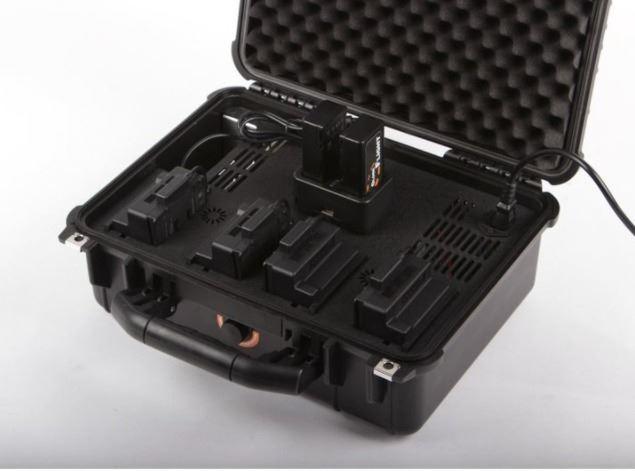 Estación de baterías PRCS Elite DJI Inspire 2 /M200 / M210