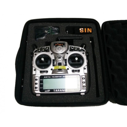 FrSky 2.4GHz ACCST TARANIS X9D PLUS and X8R Combo Digital Telemetry Radio System  w/ case (Mode 2)