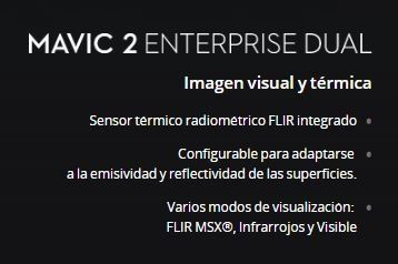 Mavic 2 Enterprise (Dual) con DJI Smart Controller
