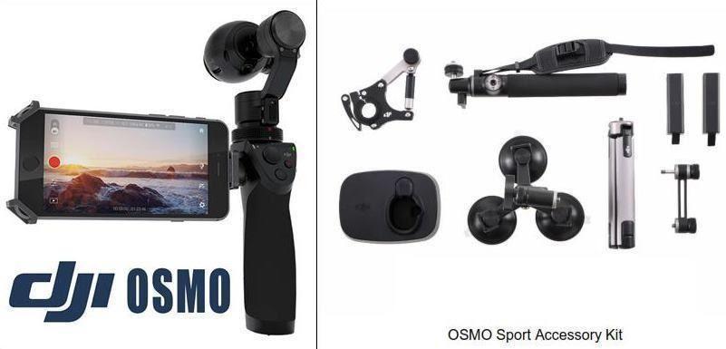 OSMO DJI Gimbal 4K + Kit de Accesorios Sport (4)