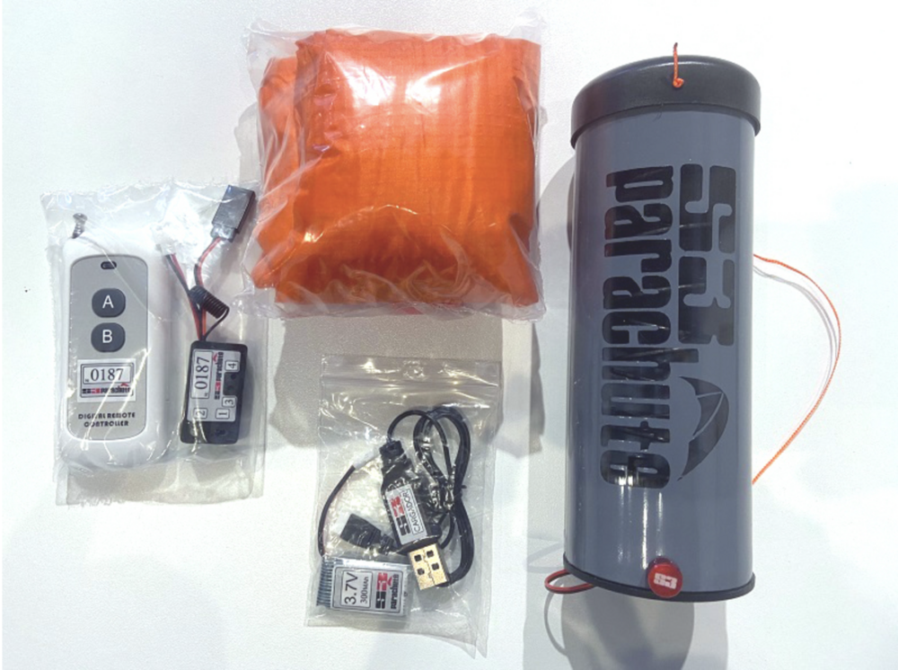 Paracaidas S3 V3 para Inspire 2 completo