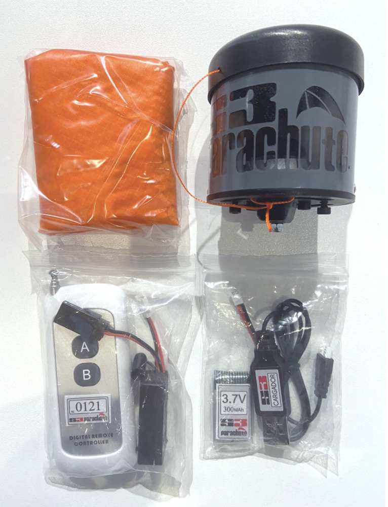 Paracaidas S3 V3 para Phantom 3 completo