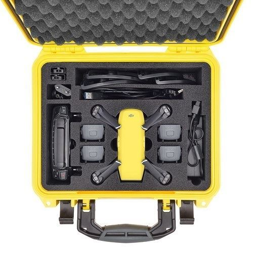 Spark - HPRC2300 YELLOW FOR DJI SPARK FLY MORE COMBO CASE